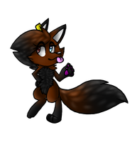 Krystalia kinda Anthro like style (FULL FOX FORM) by KrystaliaProductions