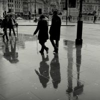 Rain shadows by lostknightkg