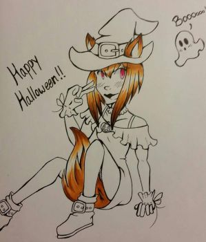 [Day 31] Happy Halloween! by IchiruSakuraba