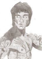 Bruce Lee by ORIGINZart