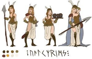 Valkyries by hep-kitten