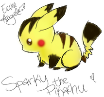 Sparky-my old pokesona by Nixhil