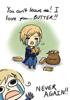 No My Butter by Azurine550