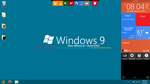 Windows 9 Beta M1 Concept - Desktop Screenshot by TheRadiationMaster