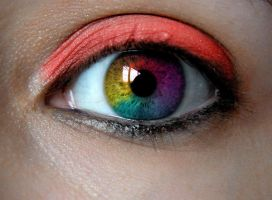 Rainbow Eyeball by googly-googly2