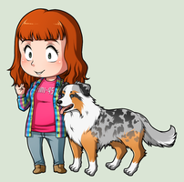 SPN Dogs #10 by NessaSan