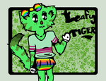 Toontown--Leafy Tiger by JayneCroyez