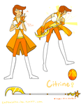 [Steven Universe OC] Citrine by Ask-TheRubbermaiden