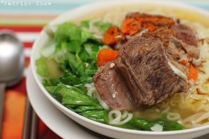 Beef stew noodles by patchow