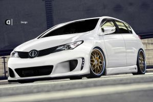 Toyota Corolla 2012 CD by Cipprik