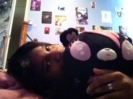 Me in my old room before I went to college by BlackFemaleMetalHead