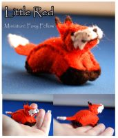 Little Red Fox- For sale by Ljtigerlily