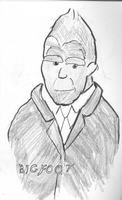 Maple Street Cast Portraits 3 -- Bigfoot by docmagnus