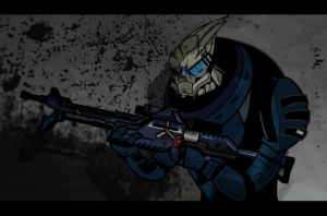 Garrus by Sir-Heartsalot