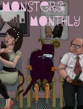 Monsters Monthly by wikkedvenus
