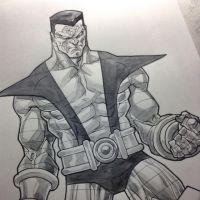 INSTAGRAM colossus commission by rogercruz