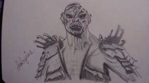 Bolg-sketch by LaLogias