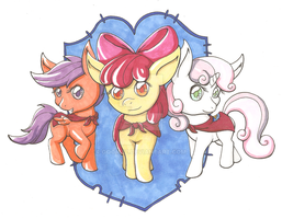 We Are the Cutie Mark Crusaders by goomzz