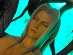Sephiroth Close Up by DrowElfMorwen