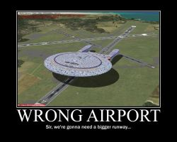 Wrong Airport by Razordraac