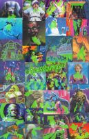 Goosebumps Green Slimy Poster by ColinMartinPWherman