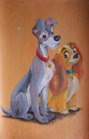 Lady & the Tramp by billywallwork525