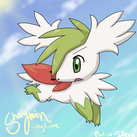 Skymin chibi for Arxius2 by FENNEKlNS