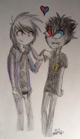 Mayhem X Sollux :AT: by CyanStorm