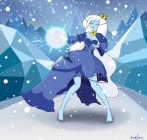 Fan Art - Ice Queen from Adventure Time by JunBenLiesor