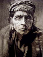 Old Navajo Man by surlian