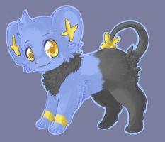 +Shinx+ by Sprinkling-stars