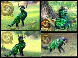 SOLD The Emerald King by Wood-Splitter-Lee