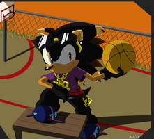 J-hood basket practice by Domestic-hedgehog