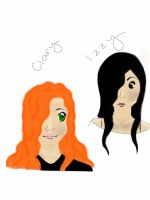Clary and Izzy by XXshellbieXX