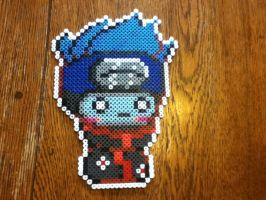 Kisame - perler beads by EeveePower