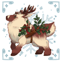 Advent Calendar 2016 Day 23: Holly Holiday by Herboreal