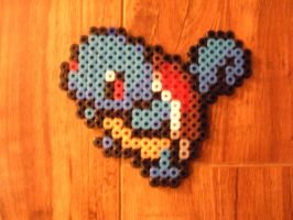 My Squirtle Perler by musical28