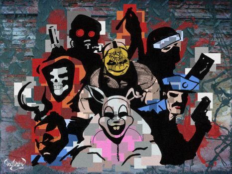 Carcer City Gangs by CitizenWolfie