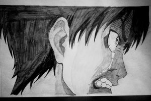 Angry Eren Jaeger by Bloudy92