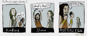 Dragons Dogma. More Stoooones! by art-anti-de