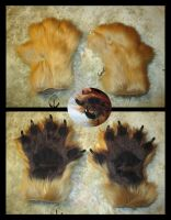 New Wolverine Paws by The-Demon-Ferret