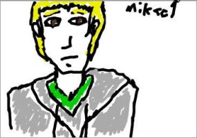Mikael doodle by AlphaYami