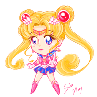 SAI Sailor Moon Chibi by NikkoTakishima