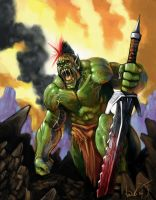 Orc by TheArtofAir