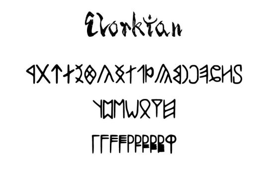Elorkian Font by Elricborninblood
