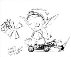 Jak X - Turbo by theanimejump