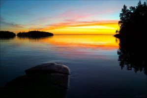 Sunset.. Valaam Islands... by my-shots