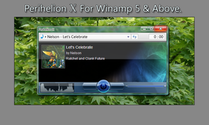 Perihelion X for Winamp by Ratchet-lombris