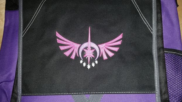 Twilight Sparkle Embroidered Bag by EthePony