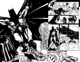 More Batman pgs 5 and 6 by Ferigato
